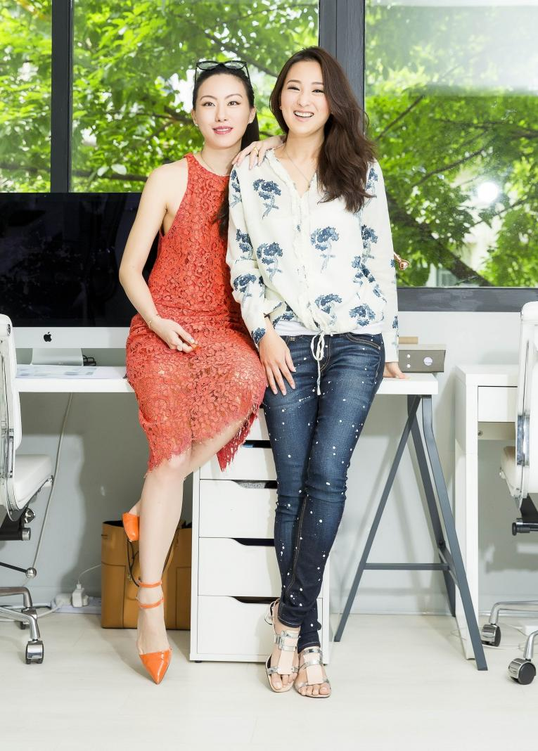 Ruth Chao and Antonia Li. Photo: Until Chan