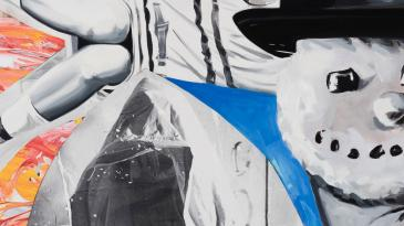 """""""Smoke Kools"""" (2014-2016) by David Salle. © David Salle, licensed by VAGA, New York. Courtesy the artist and Lehmann Maupin, Hong Kong"""