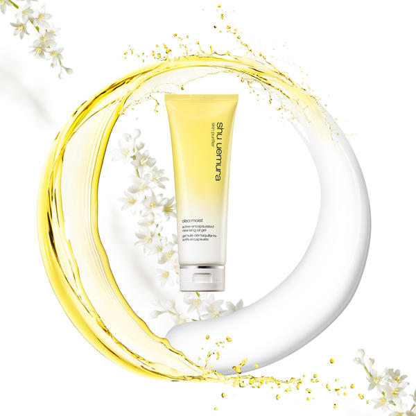 Shu Uemura Oleo: Moist Active-Encapsulated Cleansing Oil Gel