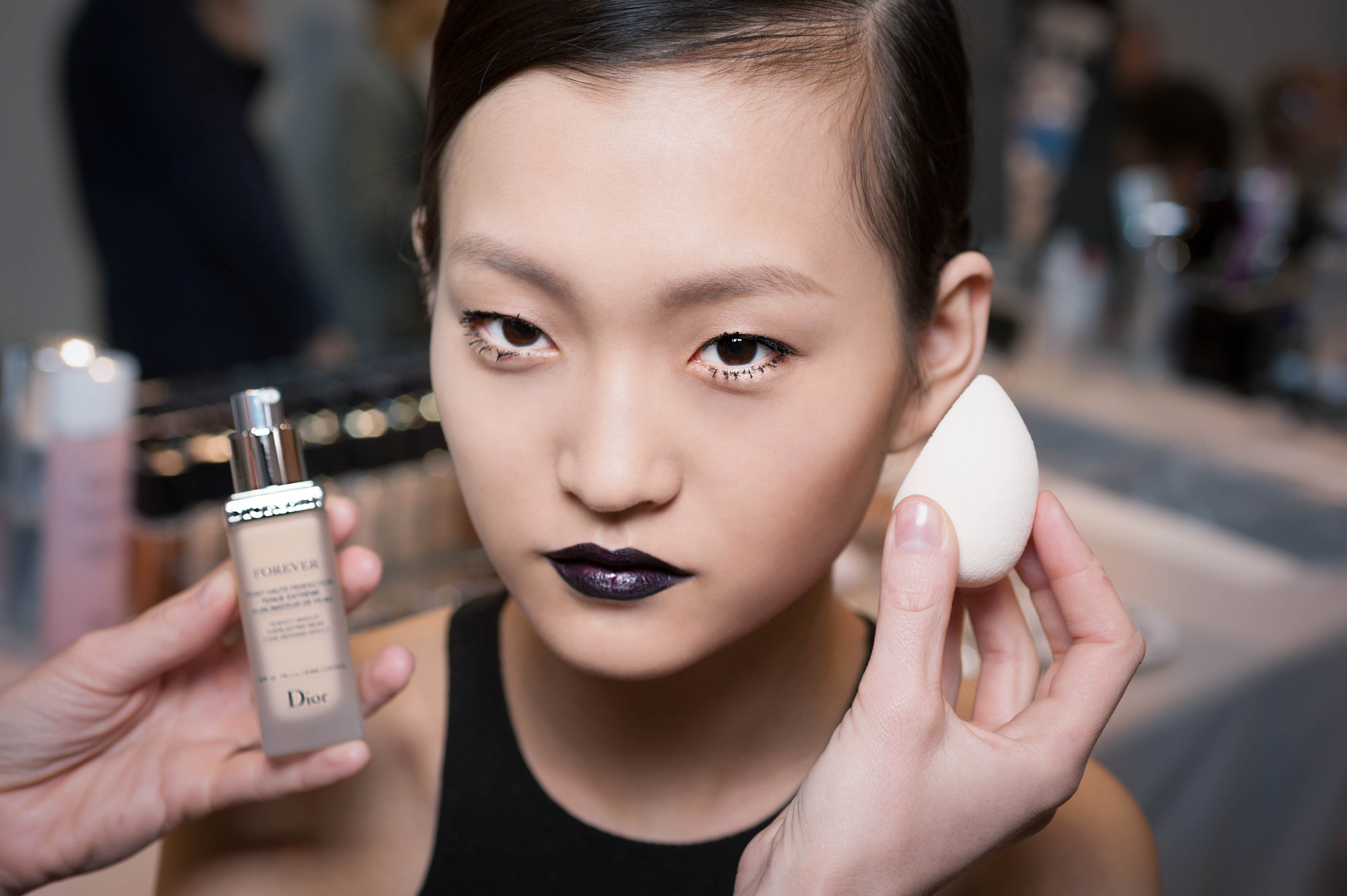 Make-up by Peter Phillips at Dior's autumn/winter 2017 ...