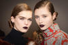 Make-up by Peter Phillips at Dior's autumn/winter 2017 show