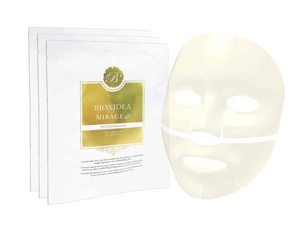 Bioxidea's Mirage48 Excellence Gold Face Mask