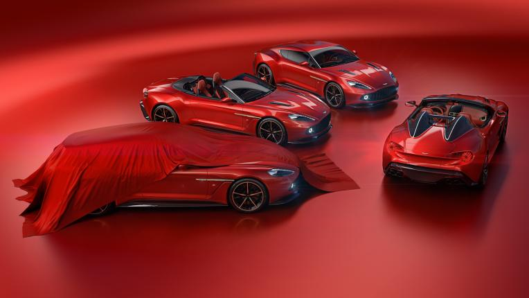 Speedster and Shooting Brake to round out Aston Martin Vanquish Zagato lineup