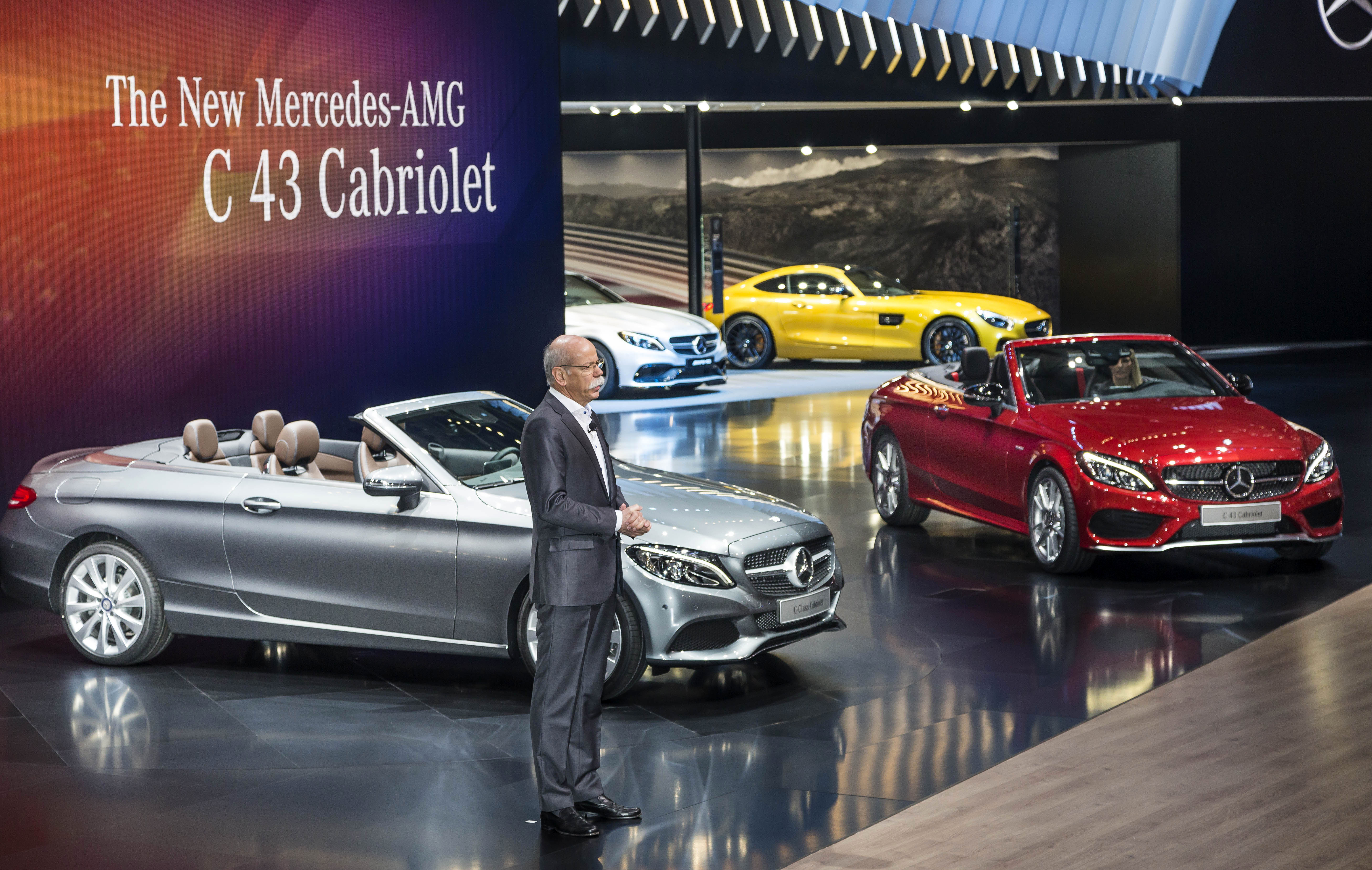 Mercedes-Benz C-Class Convertible launch