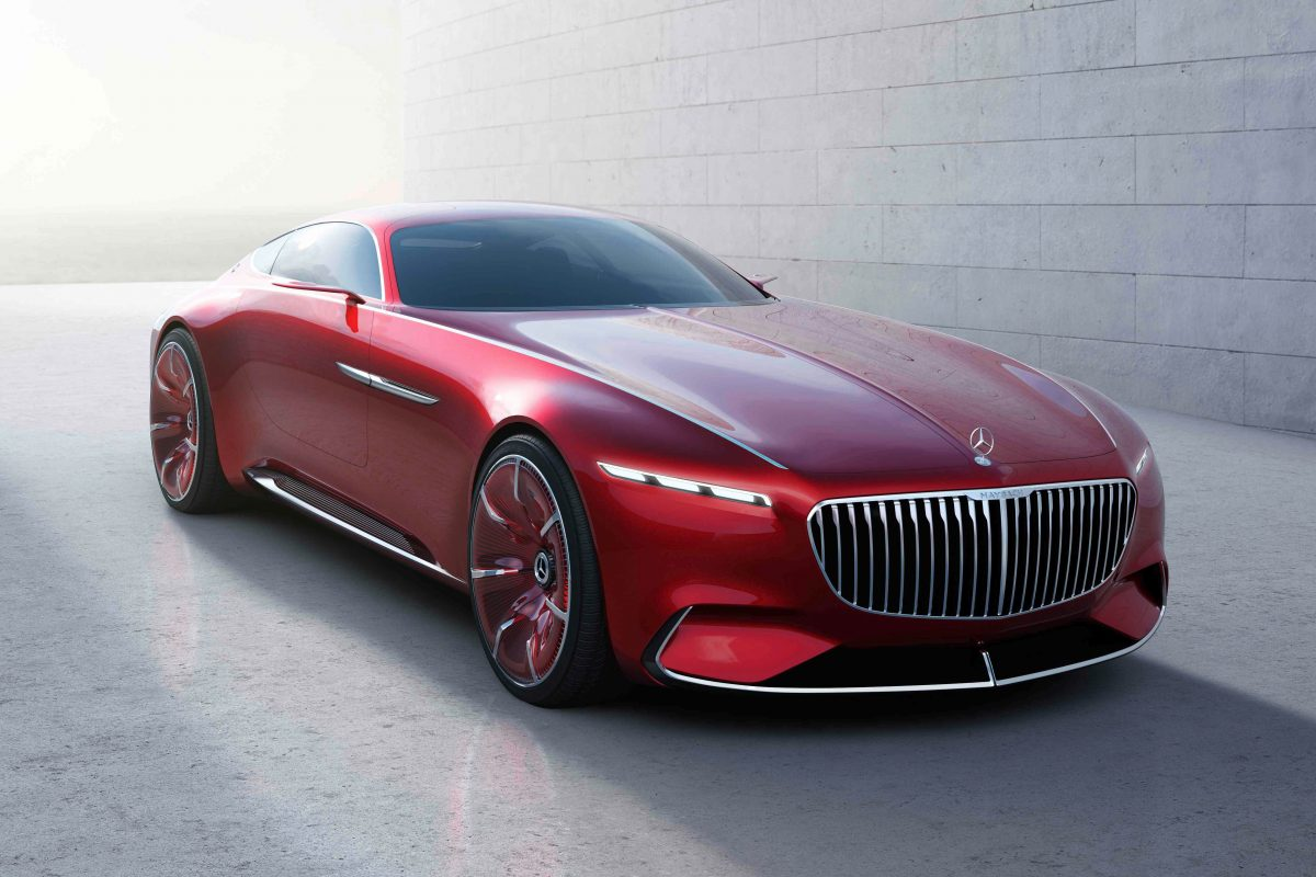 Into The Future: Vision Mercedes-Maybach 6