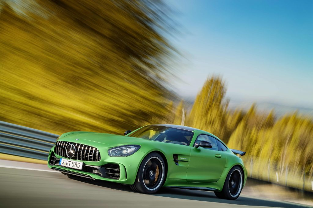 The formidable Mercedes-AMG GT R