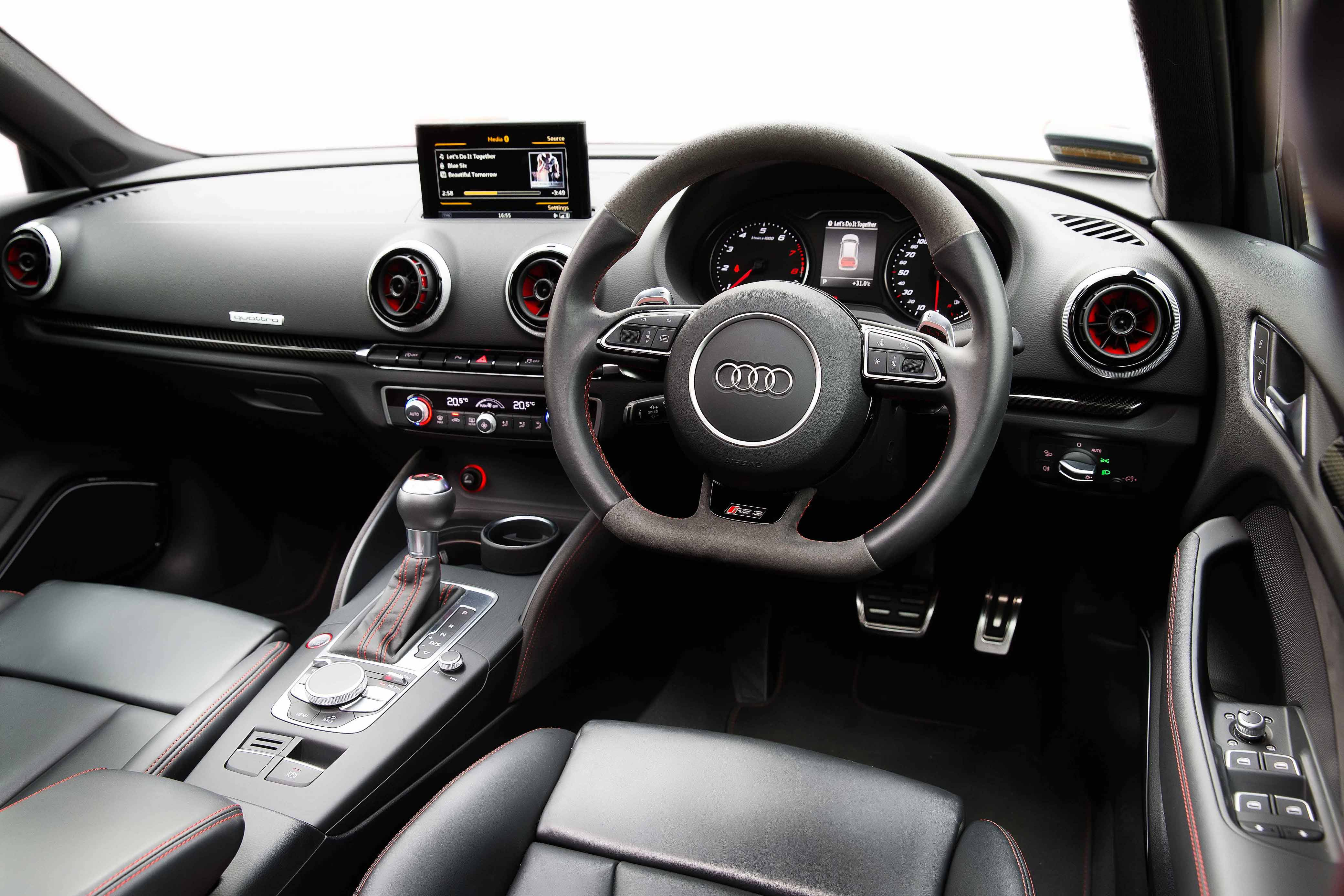 The RS3's Cabin Personifies Class