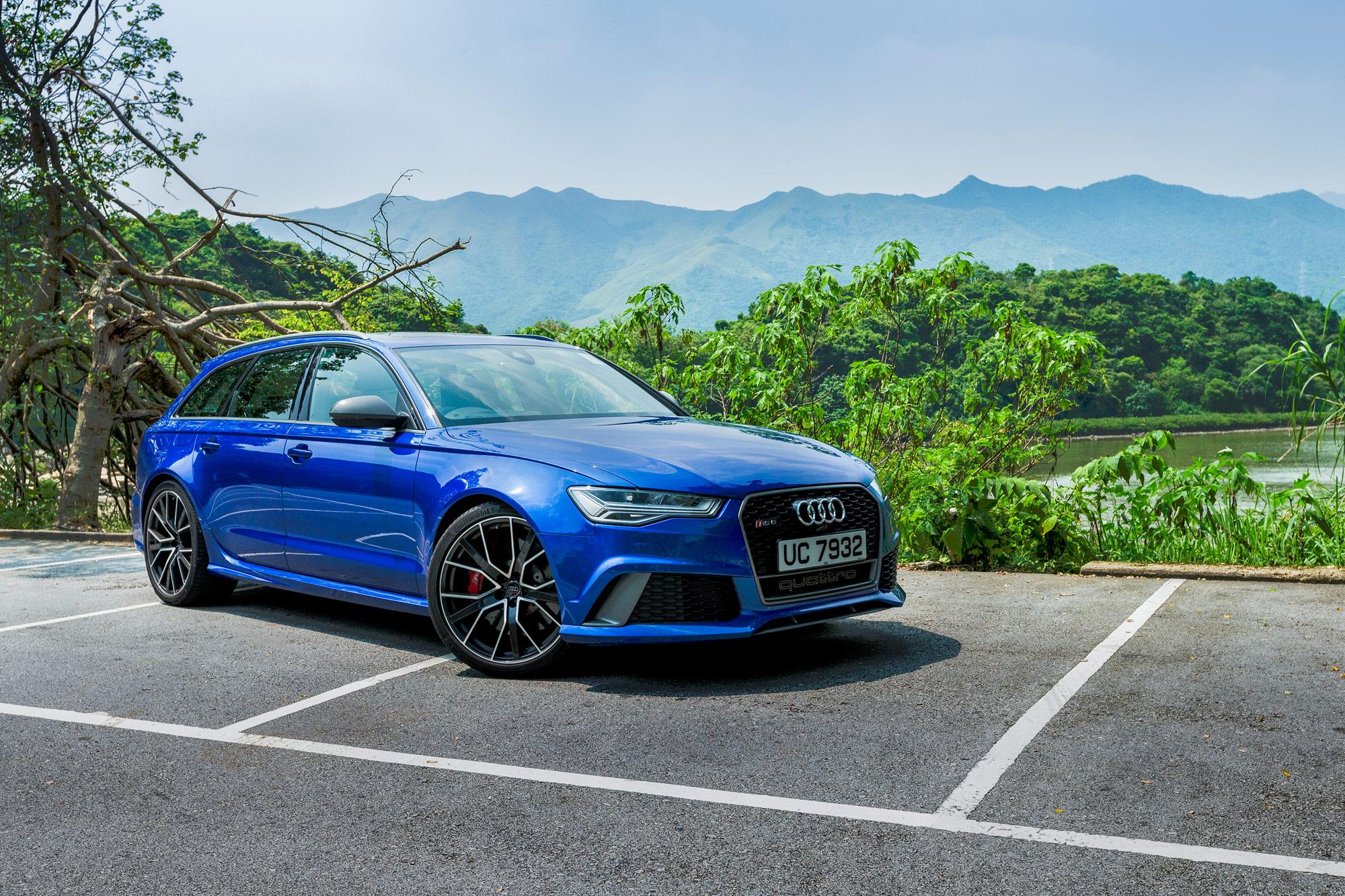 Test Drive: Audi RS6 Avant Performance