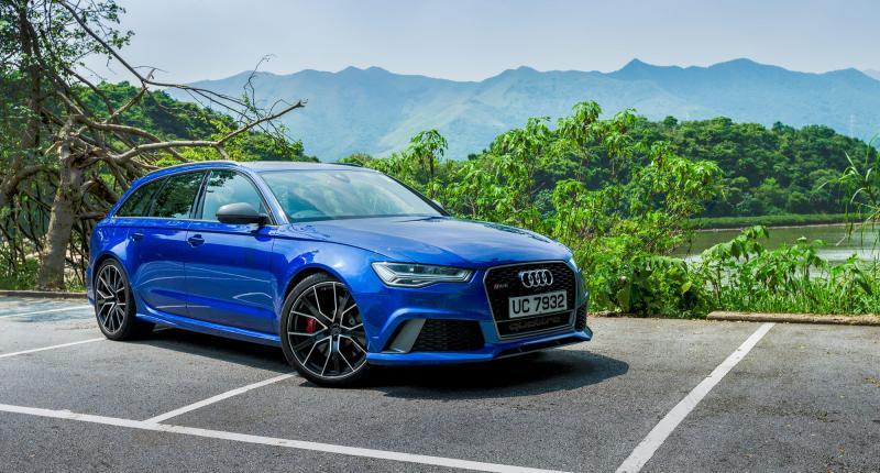 Audi RS6 Avant Performance. Photo: Christiaan Hart