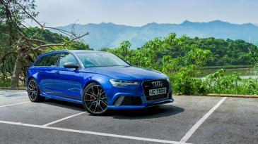 Audi RS6 Avant Performance. Photo: Christiaan Hart