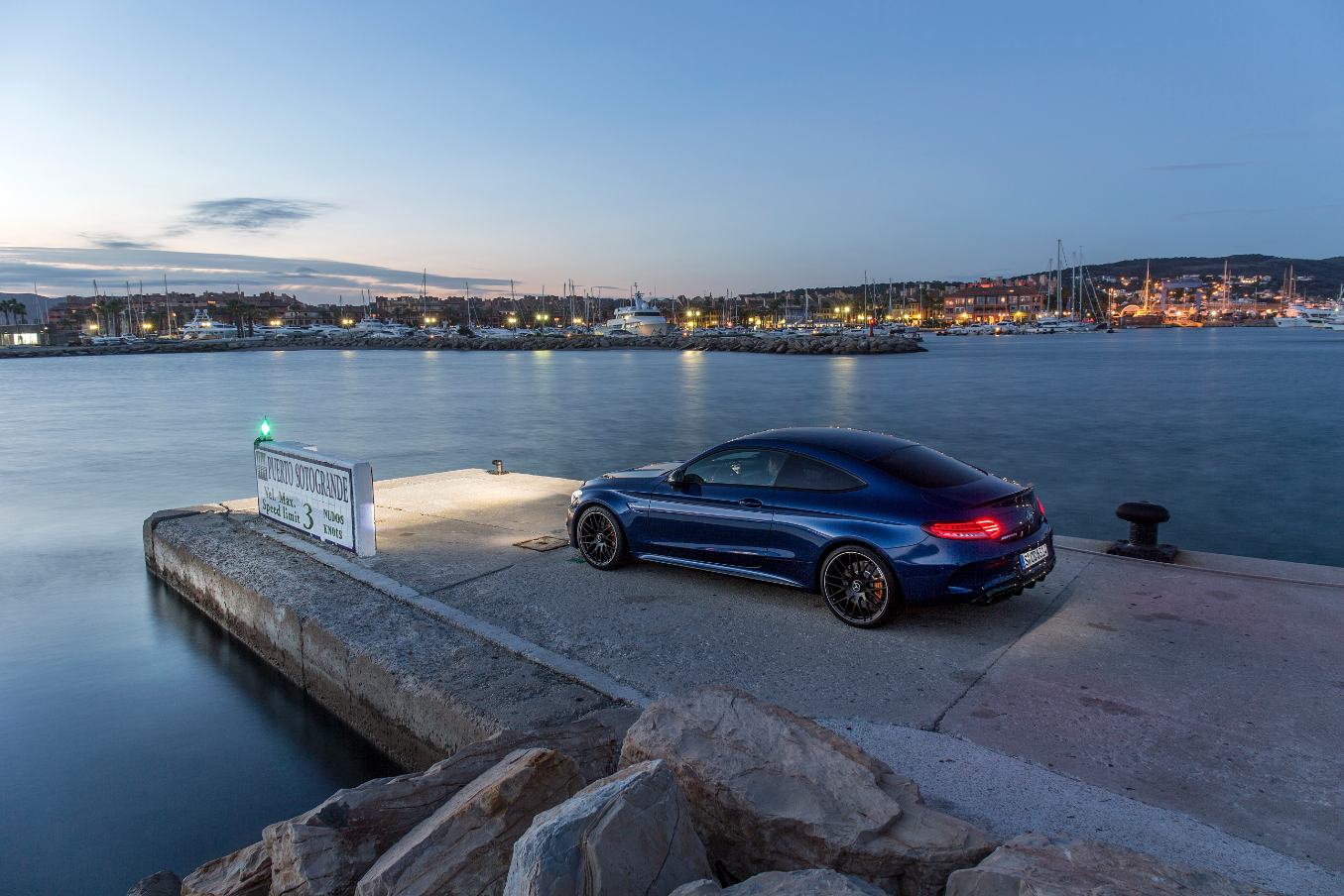 The Mercedes-AMG C63S Coupe