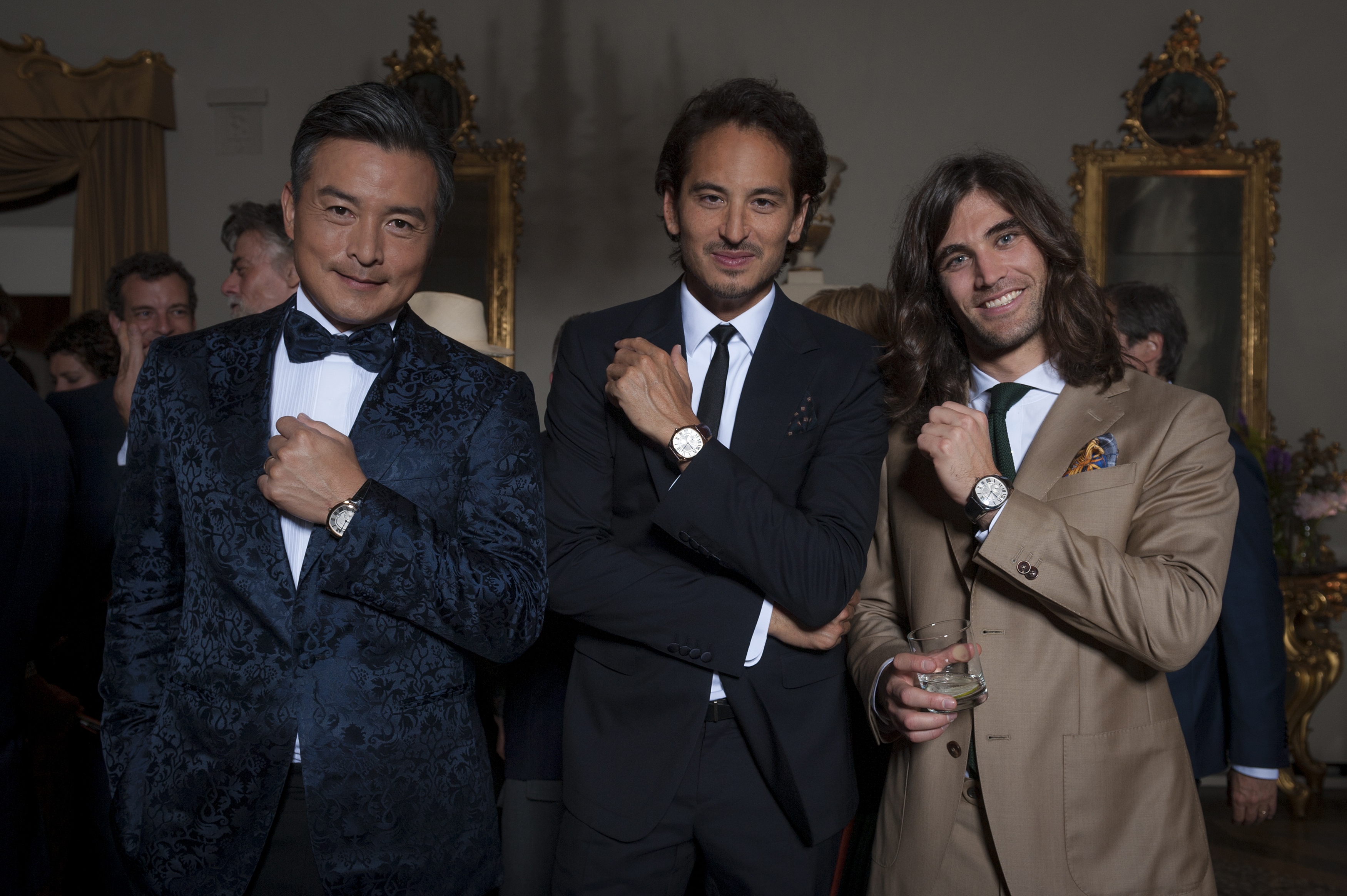 Cartier celebrates the launch of Drive de Cartier at Pitti Uomo in Florence