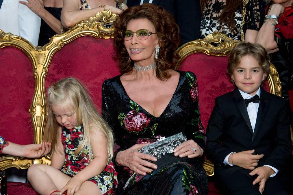 Dolce & Gabbana's Alta Moda party