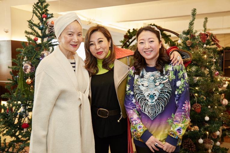 Reina Chau, Lumen Kinoshita and Winnie Tan