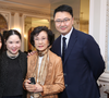 Maggie Ho, Eleanor Morris and Jeff Cheng