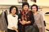 Eleanor Morris, Vinny Chu and Ella Wong