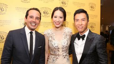 Taha Bouqdib, Cissy Wang and Donnie Yen