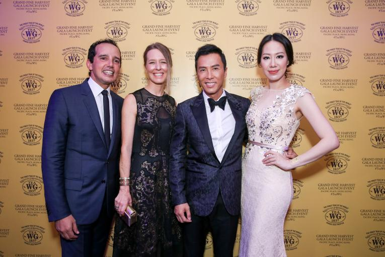 Taha Bouqdib, Maranda Barnes, Donnie Yen and Cissy Wang