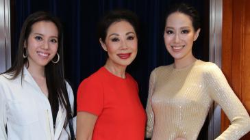 Jessica Jann, Bonnae Gokson and Cissy Wang