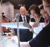 Melvyn Kirtley with Venus Wong and Derek Tsang at Tiffany And Co.