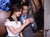 Venus Wong & Derek Tsang at Tiffany And Co.