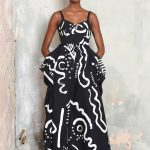 A-key-look-from-Isa-Arfen-s-spring-summer-2017-presentation.-The-bold-print-is-inspired-by-the-Omo-Valley-tribe-of-Ethiopia