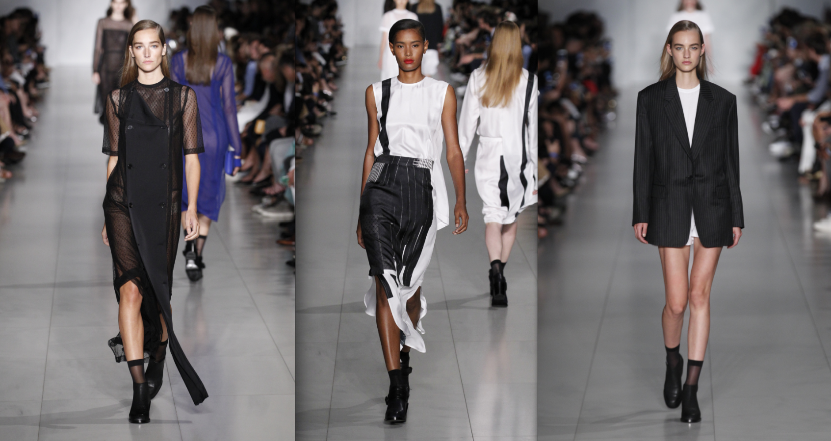 Looks from DKNY's spring/summer 2016 collection