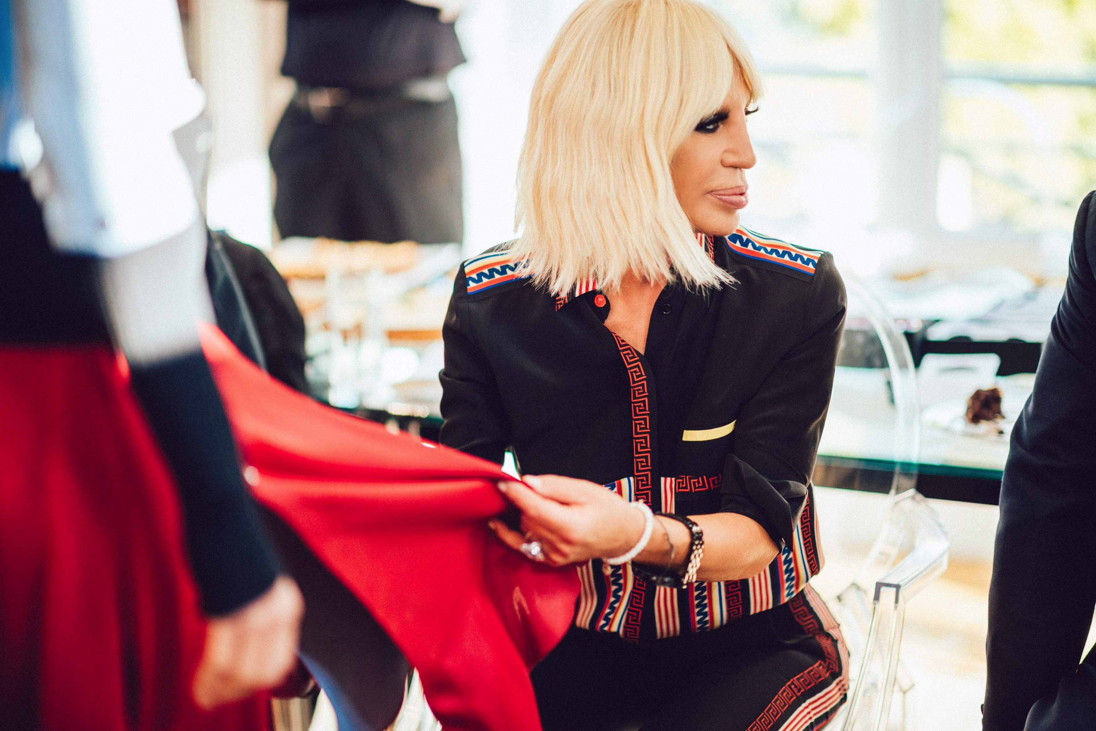 Donatella tells all about Versace
