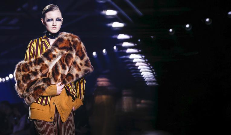 A look from Dries Van Noten's autumn/winter 2016 collection