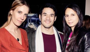 Joseph Altuzarra with Vanessa Traina and Melanie Huynh