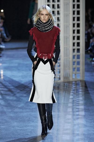 A look from Joseph Altuzarra's autumn/winter 2016 collection