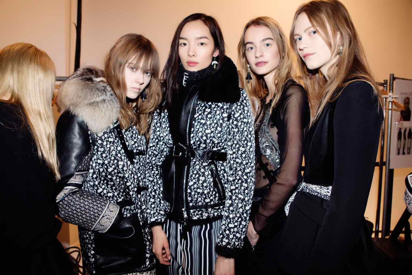 Backstage at Joseph Altuzarra's autumn/winter 2016 show