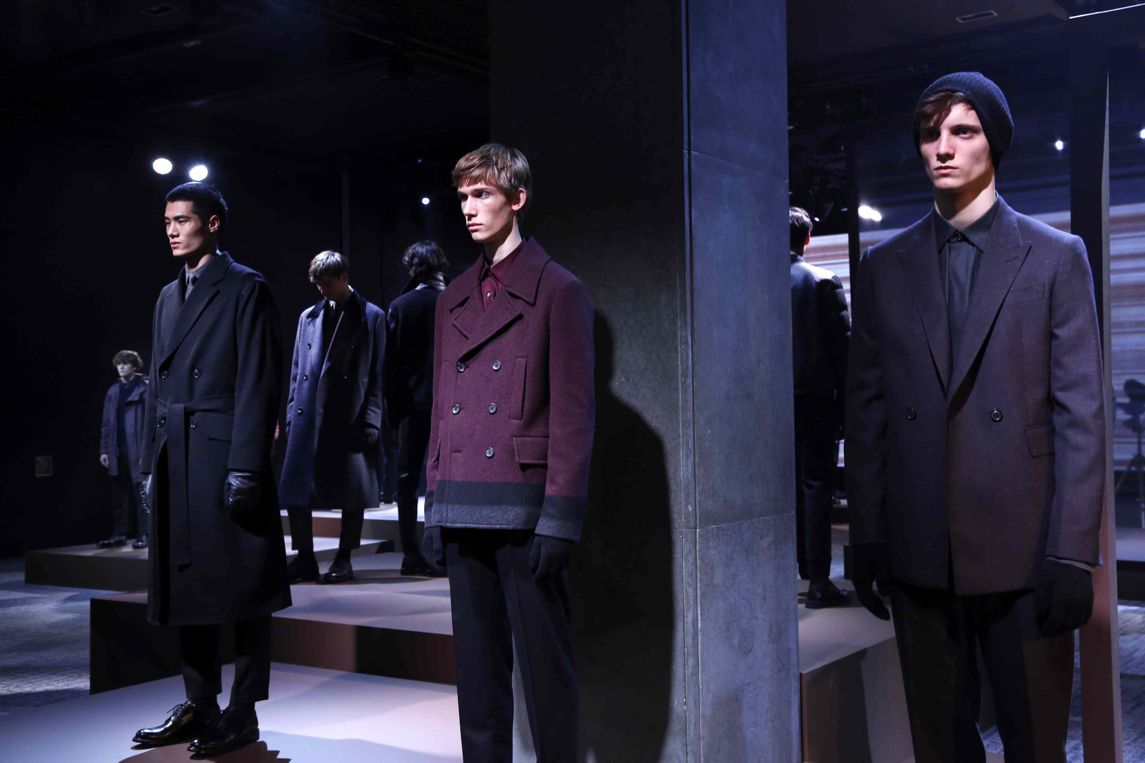 Cerruti 1881's autumn/winter 2016 presentation in Paris