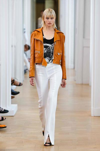 A look from Courrèges' spring/summer 2017 collection