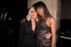 Donatella Versace and Naomi Campbell at the Atelier Versace autumn/winter 2016 show