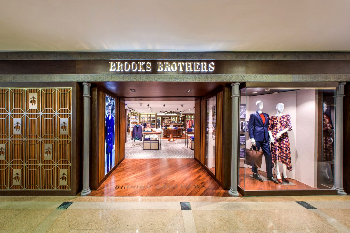 Brooks Brothers Presents: Two New Stores in Hong Kong