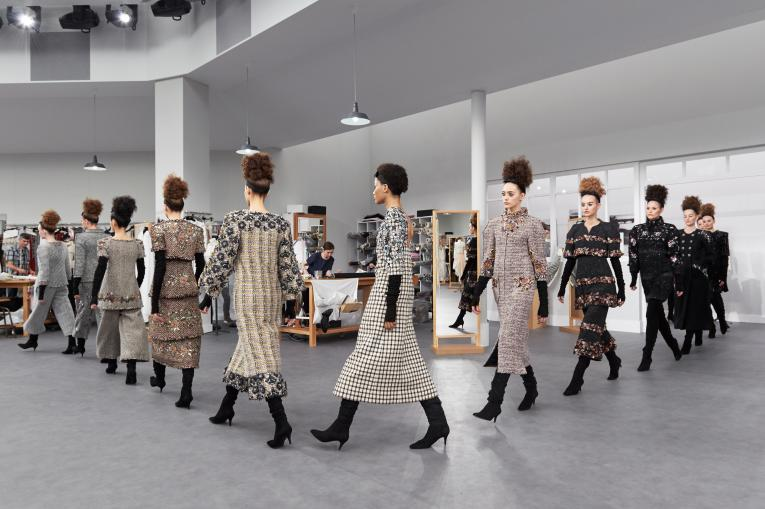 The finale of Chanel's autumn/winter 2016 couture show. Photo: Olivier Saillant
