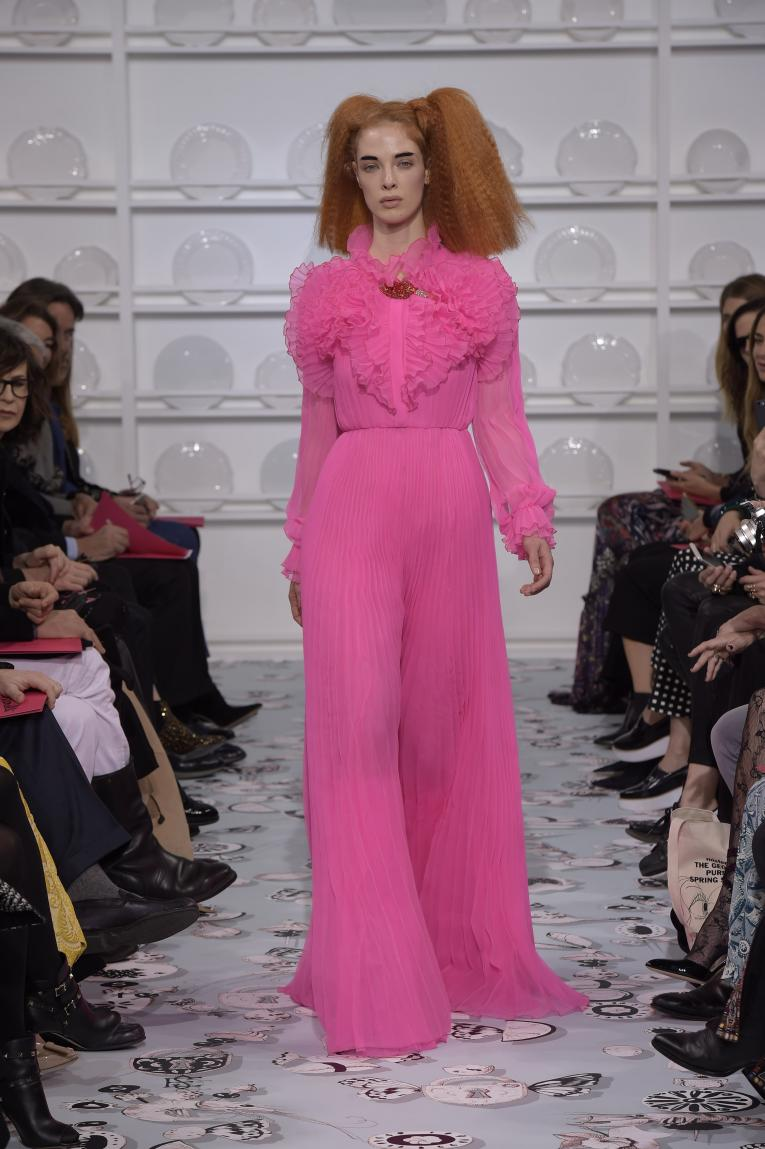 A look from Schiaparelli's Spring 2016 couture show
