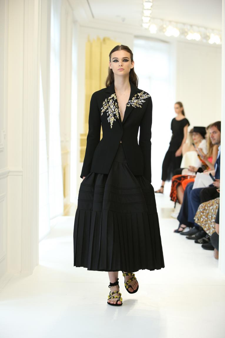 A look from Dior's haute couture autumn/winter 2016 collection