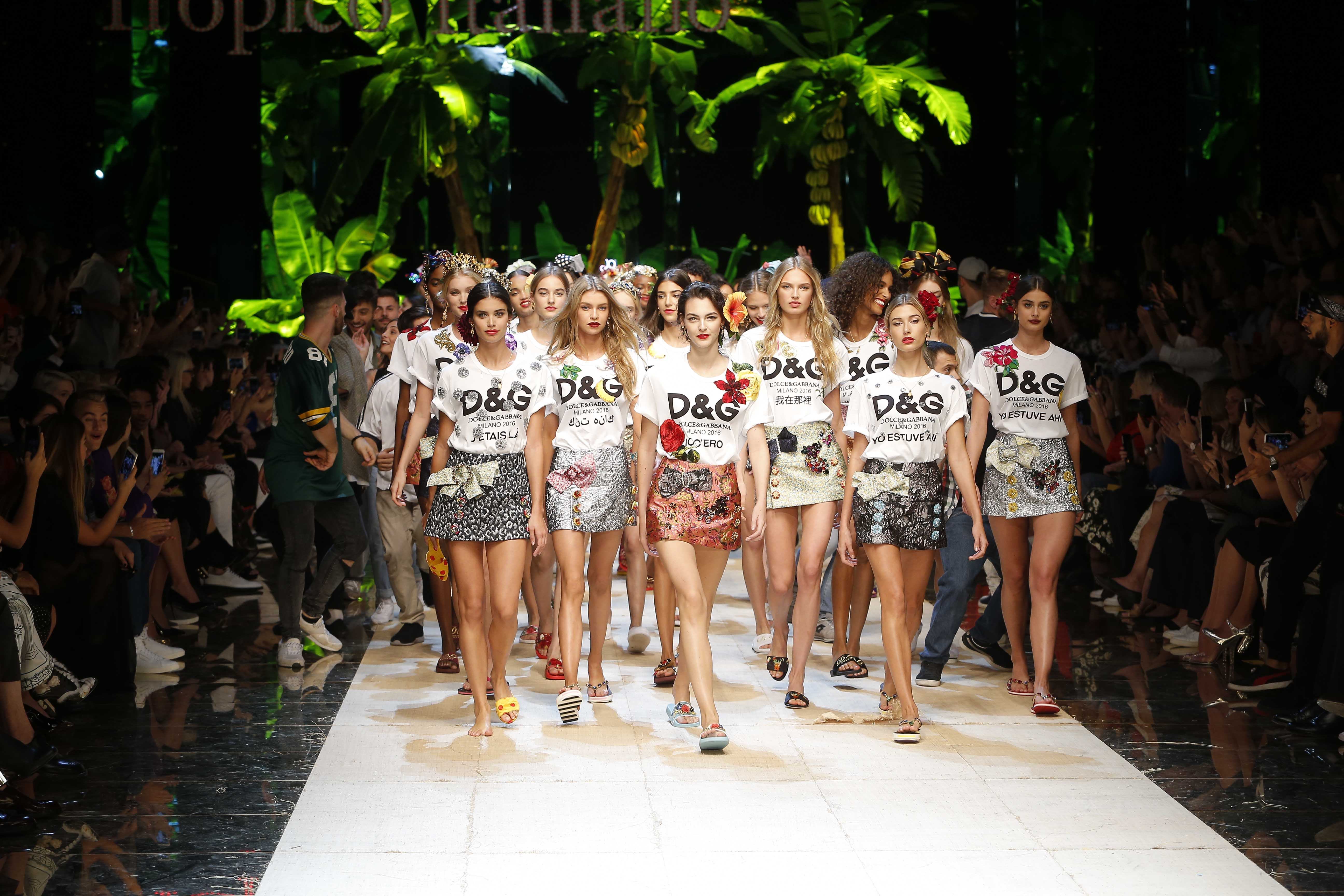 Dolce & Gabbana's spring/summer 2017 collection