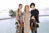 Alicia Vikander, Catherine Deneuve and Doona Bae at the Louis Vuitton Cruise 2017 show