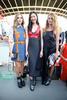 Chiara Ferragni, Liu Wen and Alexia Niedzielski at the Louis Vuitton Cruise 2017 show