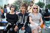 Doona Bae, Jaden Smith and Catherine Deneuve at the Louis Vuitton Cruise 2017 show