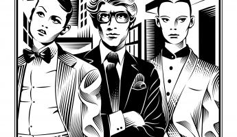 Yves Saint Laurent by Yann Legendre