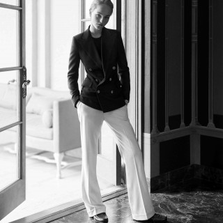 Jean Campbell wearing the RL blazer