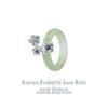 Sakura Florette Jade Ring by Choo Yilin