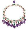 Colour Treasures Extravaganza high jewellery necklace