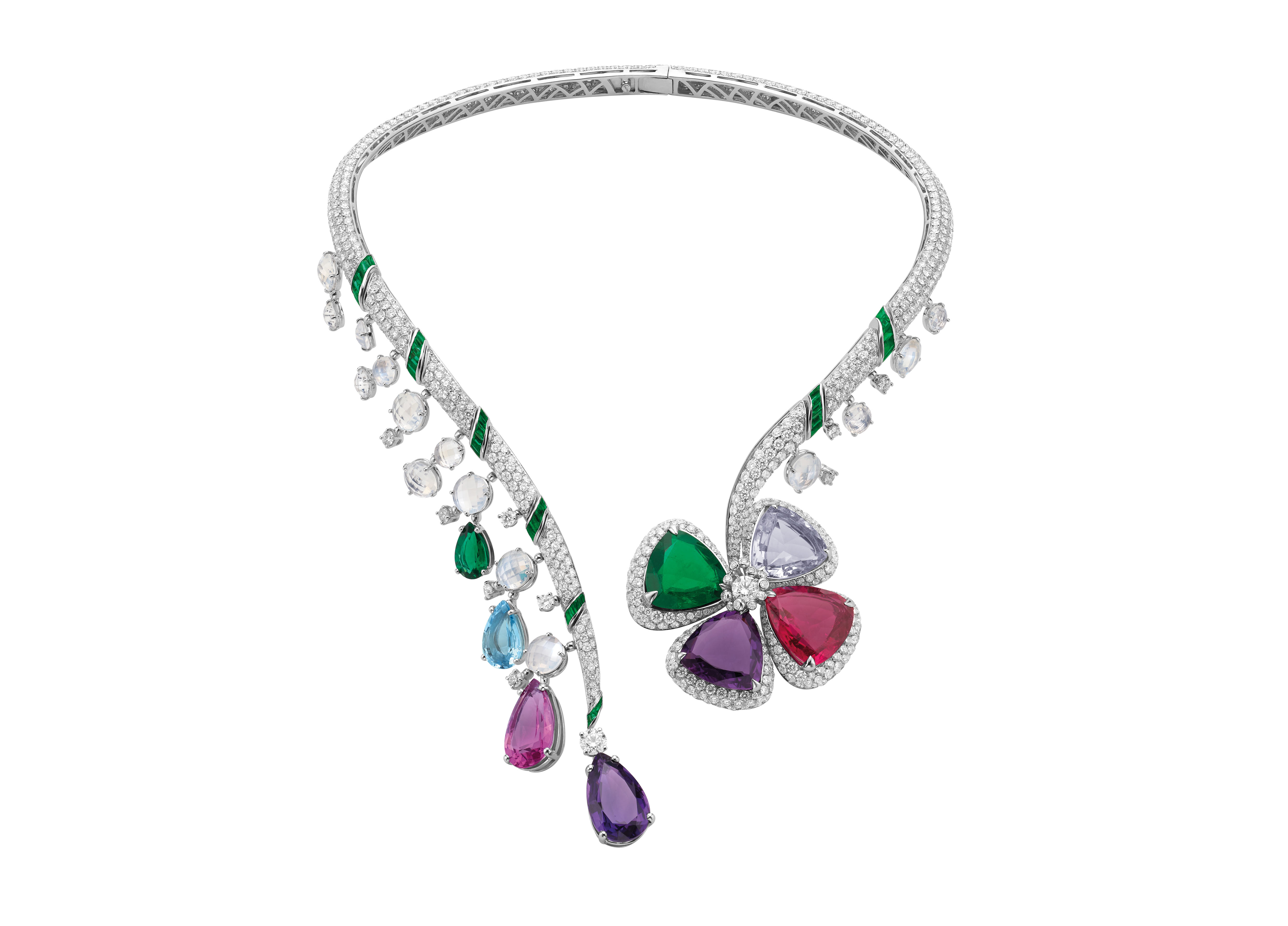 fiore ingenuo high jewellery necklace
