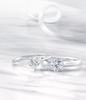 Chow Tai Fook Forevermark diamond rings