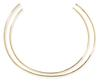 Jennifer Fisher set of two gold-plated chokers